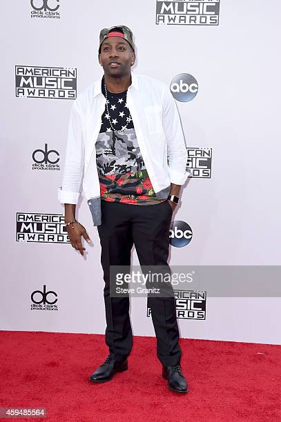 Rapper DeStorm Power attends the 2014 American Music Awards at Nokia Theatre LA Live on November 23 2014 in Los Angeles California