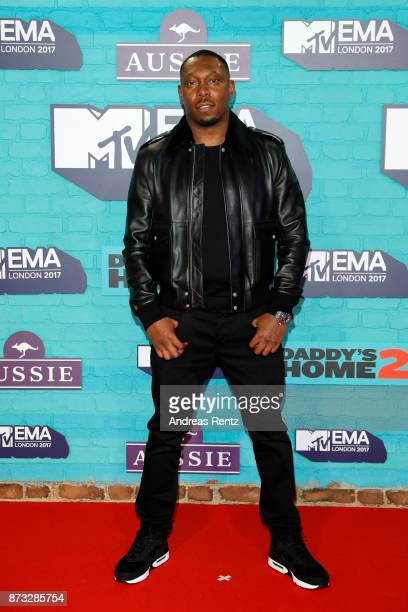 Rapper Dizzee Rascal attends the MTV EMAs 2017 held at The SSE Arena Wembley on November 12 2017 in London England