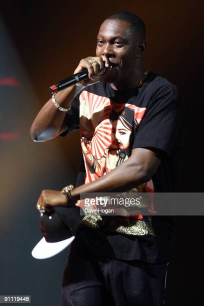 Rapper Dizzie Rascal performs onstage for the Arthurs Day Guinness 250th Anniversary Celebration held at the Stockhouse on September 24 2009 in...