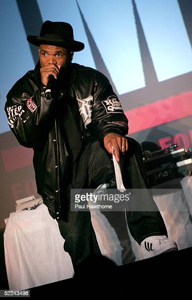 7ed84b935 Rapper DMC pays tribute to Jam Master Jay during the 35th anniversary of  the Addidas superstar