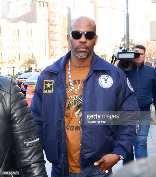 Rapper DMX arrived at United States Court House on November 30 2017 in New York City