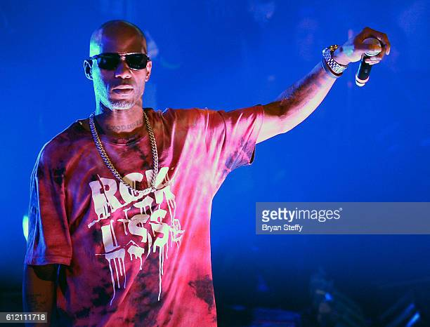 Rapper DMX performs at Drai's Beach Club Nightclub at The Cromwell Las Vegas on October 3 2016 in Las Vegas Nevada