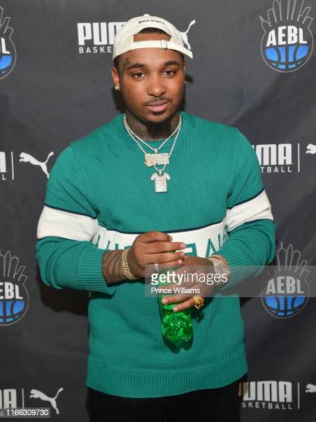 Rapper Doe Boy attends ABEL 7th annual Back to School With Lil Durk at Kipp Atlanta Collegiate on August 4, 2019 in Atlanta, Georgia.