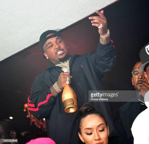 Rapper Doe boy attends MIATL Weekend Celebration at Compound on October 11, 2020 in Atlanta, Georgia.