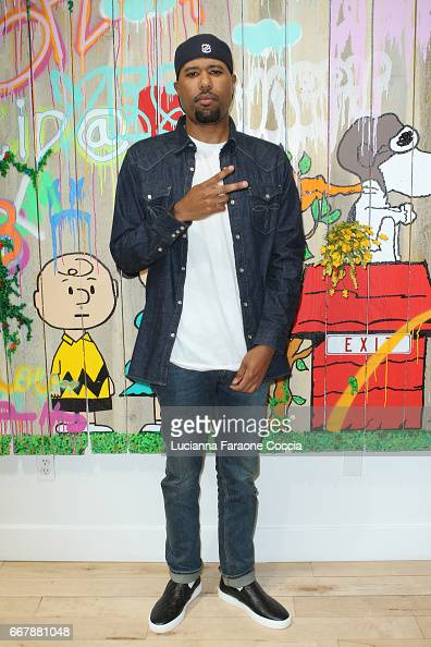 Rapper Dom Kennedy at the opening for ABH's