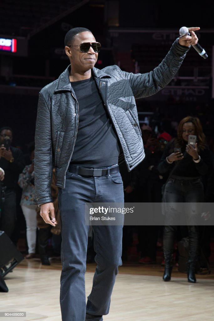 Rapper Doug E. Fresh performs live for Wizards Concert Series - Hip Hop Night at Capital One Arena on January 12, 2018 in Washington, DC.