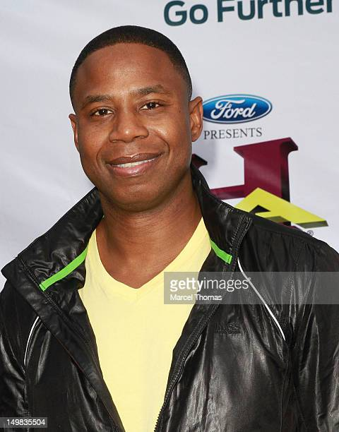 Rapper Doug E Fresh walks the blue carpet at the 10th Annual Ford Hoodie Awards at MGM Garden Arena on August 4, 2012 in Las Vegas, Nevada.