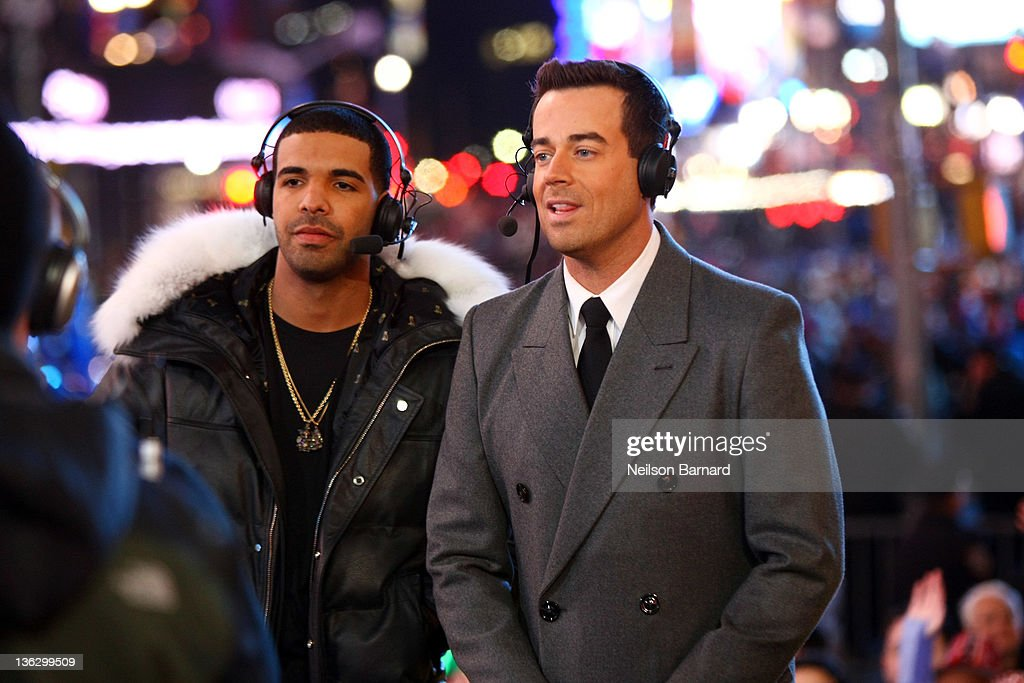 New Year's Eve 2012 With Carson Daly : News Photo