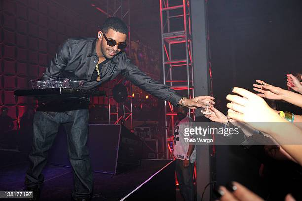 Rapper Drake attends ESPN The Magazine's 'NEXT' Event on February 3 2012 in Indianapolis Indiana