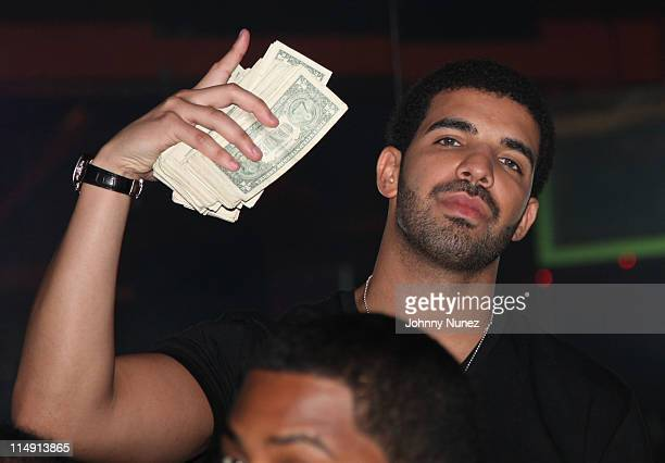 Rapper Drake Attends Worldstarhiphop 6 Year Anniversary At King Of Diamonds On May 27 2011 In