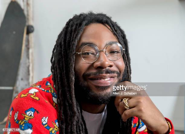 Rapper DRAM is photographed for Los Angeles Times on March 28 2017 in Los Angeles California PUBLISHED IMAGE CREDIT MUST READ Allen J Schaben Los...