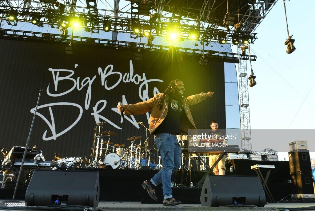 Demon Dayz Festival 2020.Us Rapper D R A M Performs At Demon Dayz Festival La At