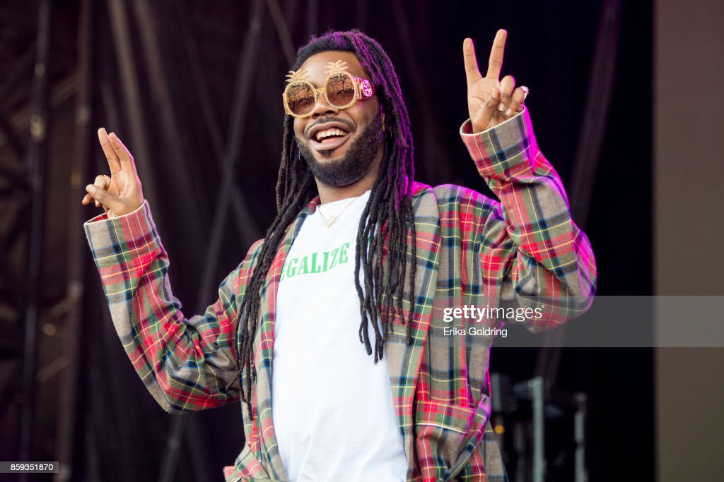 Rapper D.R.A.M. performs during Austin City Limits Festival at Zilker Park on October 8, 2017 in Austin, Texas.