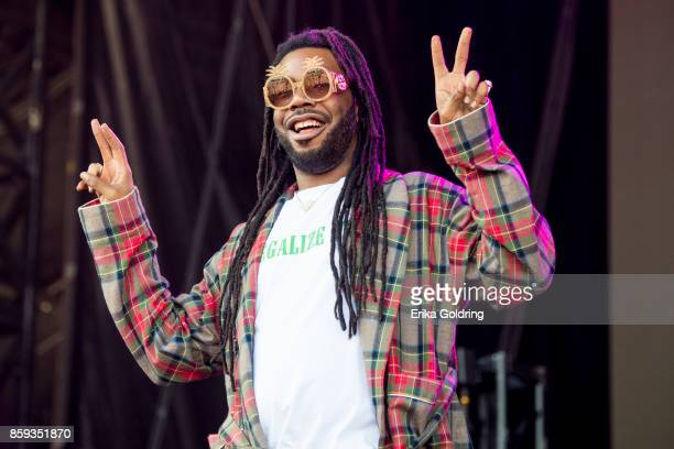 Rapper DRAM performs during Austin City Limits Festival at Zilker Park on October 8 2017 in Austin Texas