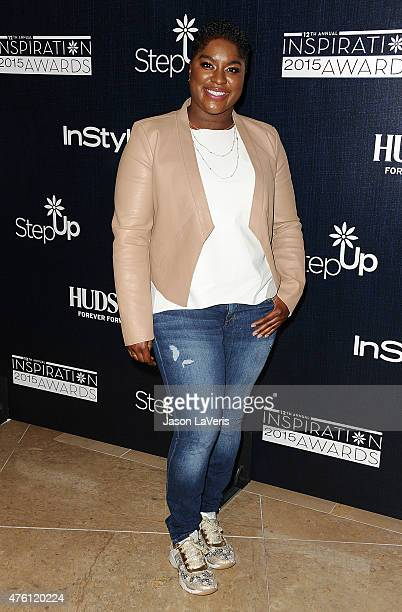 Rapper Ester Dean attends the 12th annual Inspiration Awards to benefit Step Up at The Beverly Hilton Hotel on June 5 2015 in Beverly Hills California