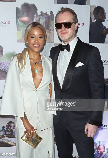 Rapper Eve and Maximillion Cooper attend Malaika10 at Espace on May 17 2017 in New York City