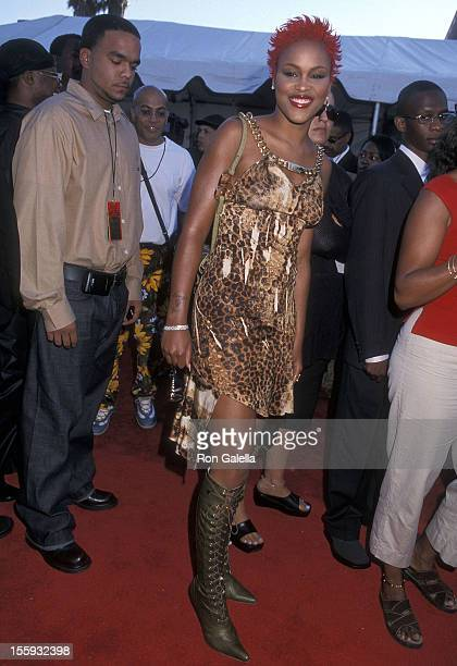 Rapper Eve attend the Sixth Annual Soul Train Lady of Soul Awards on September 2 2000 at the Santa Monica Civic Auditorium in Santa Monica California