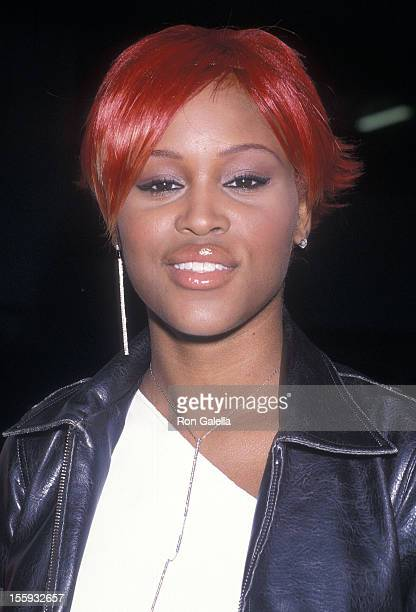 Rapper Eve attends the 'Event o Prevent' Concert to Launch the Candie's Foundation on June 5 2001 at Roseland Ballroom in New York City