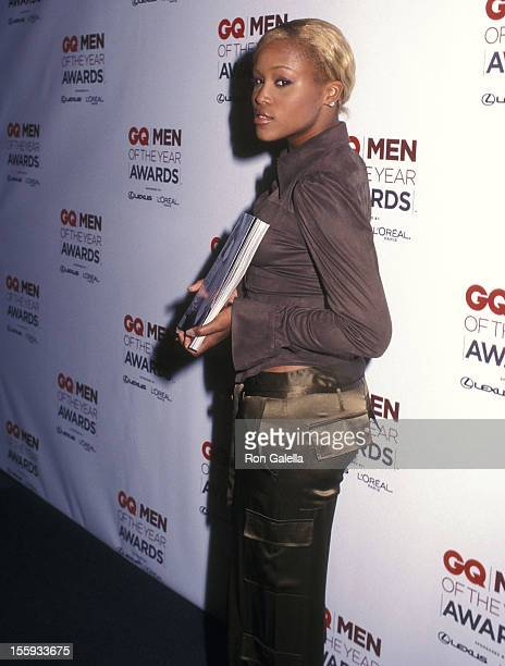 Rapper Eve attends the Seventh Annual GQ Men of the Year Awards on October 16 2002 at Manhattan Center in New York City