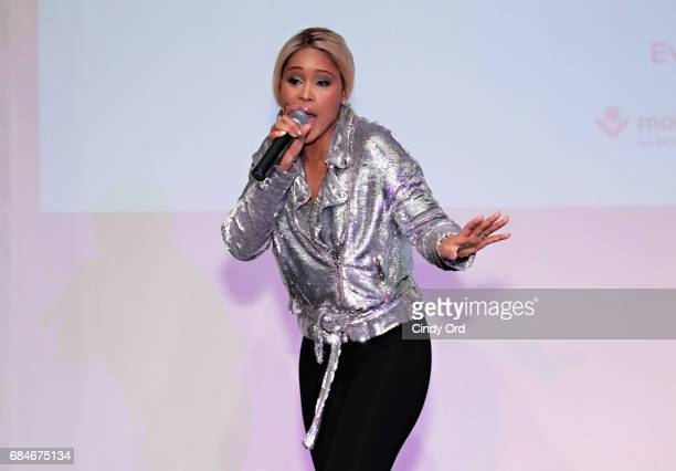 Rapper Eve performs onstage as Malaika hosts Malaika10 honoring Barry Segal Tina Buchan at Espace on May 17 2017 in New York City