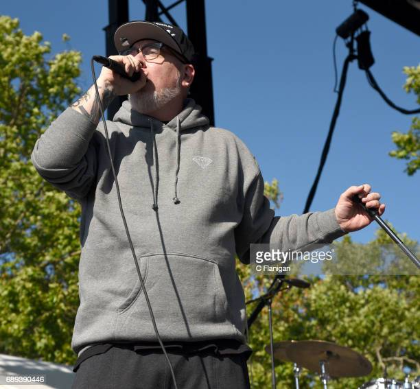Rapper Everlast of House of Pain performs during the 2017 BottleRock Napa Valley Festival on May 27 2017 in Napa California