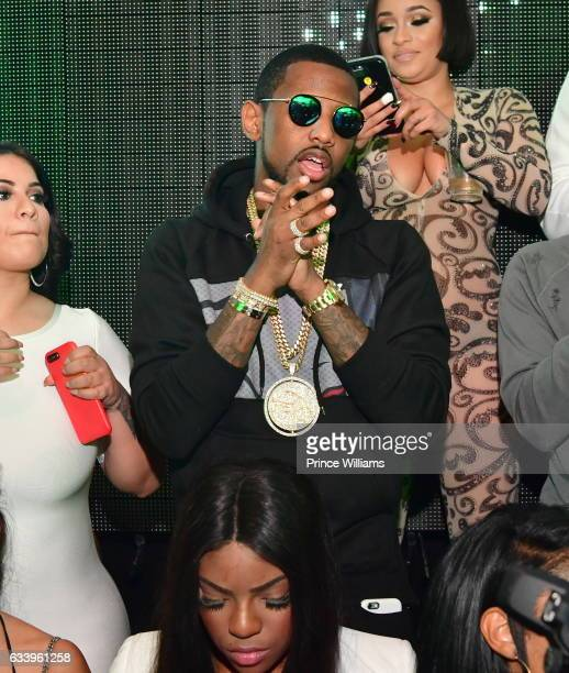 Rapper Fabolous attends a Dayparty at Mercy Night Club on February 4 2017 in Houston Texas