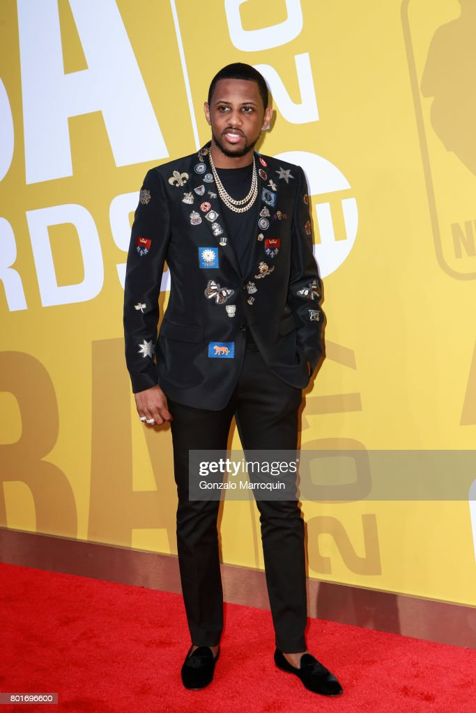 Rapper Fabolous attends the 2017 NBA Awards at Basketball City - Pier 36 - South Street on June 26, 2017 in New York City.
