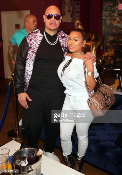 Rapper Fat Joe and Lorena Cartagena attend Brunch With a Baller at Escobar Restaurant and Tapas on June 18 2017 in Atlanta Georgia