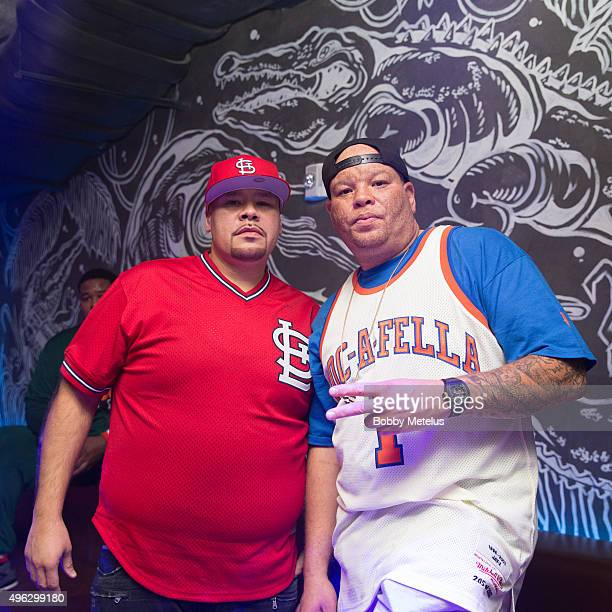 "November 7: Rapper Fat Joe and ROC Nation Shawn ""Pecas"" Costner celebrate Gabrielle Union's ""School Daze"" birthday celebration at The Basement at The..."