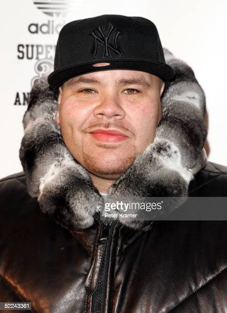 Rapper Fat Joe attends the 35th anniversary of the Adidas superstar sneaker honoring the life of Jam Master Jay on February 25 2005 in New York City
