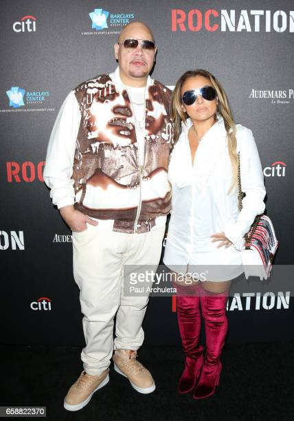 Rapper Fat Joe attends the Roc Nation preGRAMMY Brunch on February 11 2017 in Los Angeles California