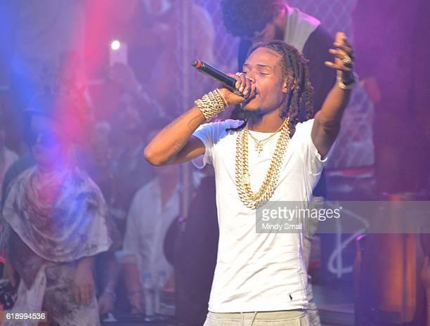 Rapper Fetty Wap performs at Drai's Beach Club Nightclub at The Cromwell Las Vegas on October 29 2016 in Las Vegas Nevada