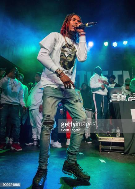 Rapper Fetty Wap performs at St Andrew's Hall on January 24 2018 in Detroit Michigan