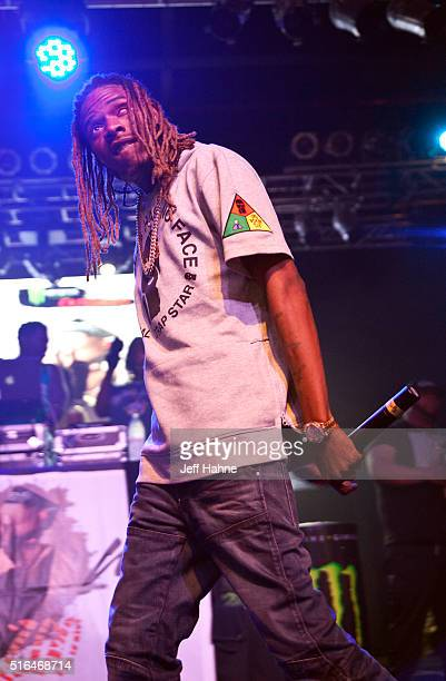 Rapper Fetty Wap performs at The Fillmore Charlotte on March 18 2016 in Charlotte North Carolina