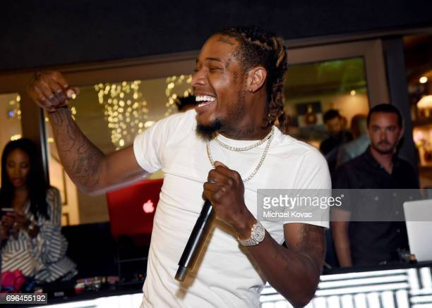 Rapper Fetty Wap performs onstage during Remy Martin's special evening with Jeremy Renner and Fetty Wap celebrating The Exceptional at Eric...
