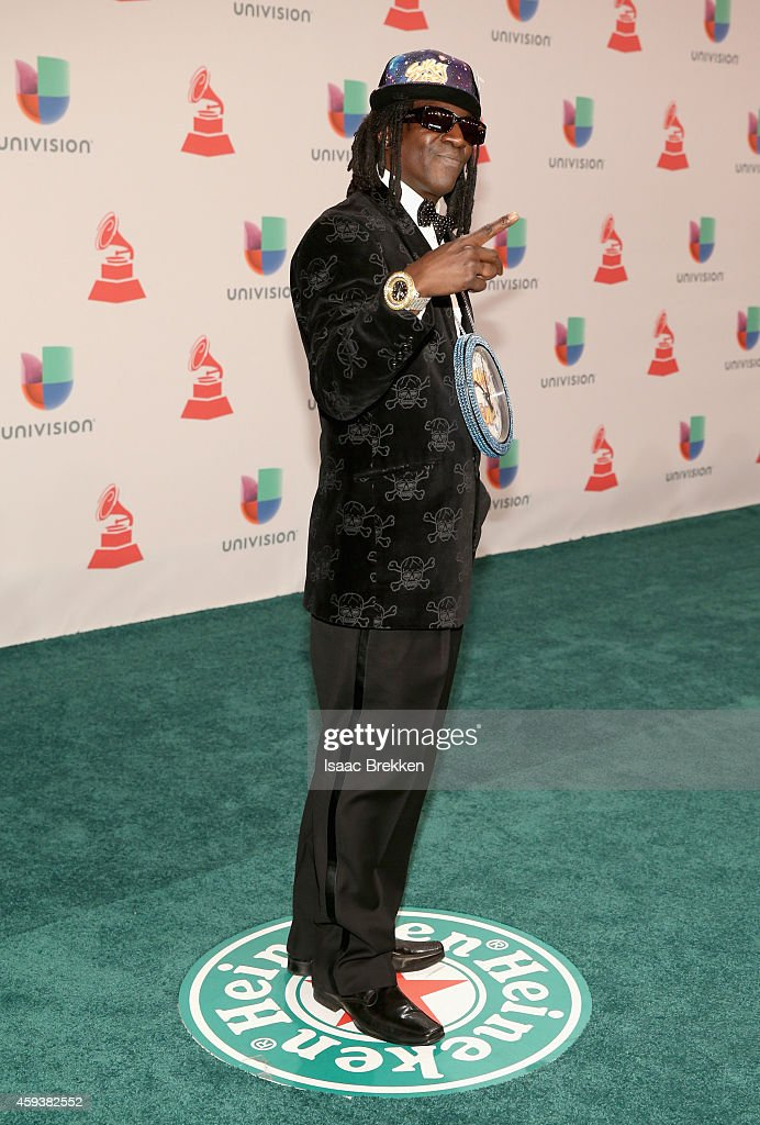 Rapper Flavor Flav attends the 15th annual Latin GRAMMY Awards at the MGM Grand Garden Arena on November 20, 2014 in Las Vegas, Nevada.