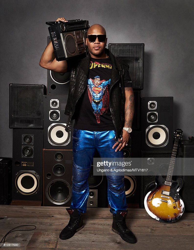 Rapper Flo Rida poses for a portrait at the 2016 MTV Video Music Awards at Madison Square Garden on August 28, 2016 in New York City.