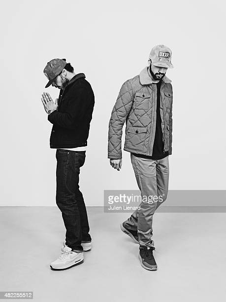 Rapper Framal Mekra are photographed for Self Assignment on February 28 2015 in Paris France