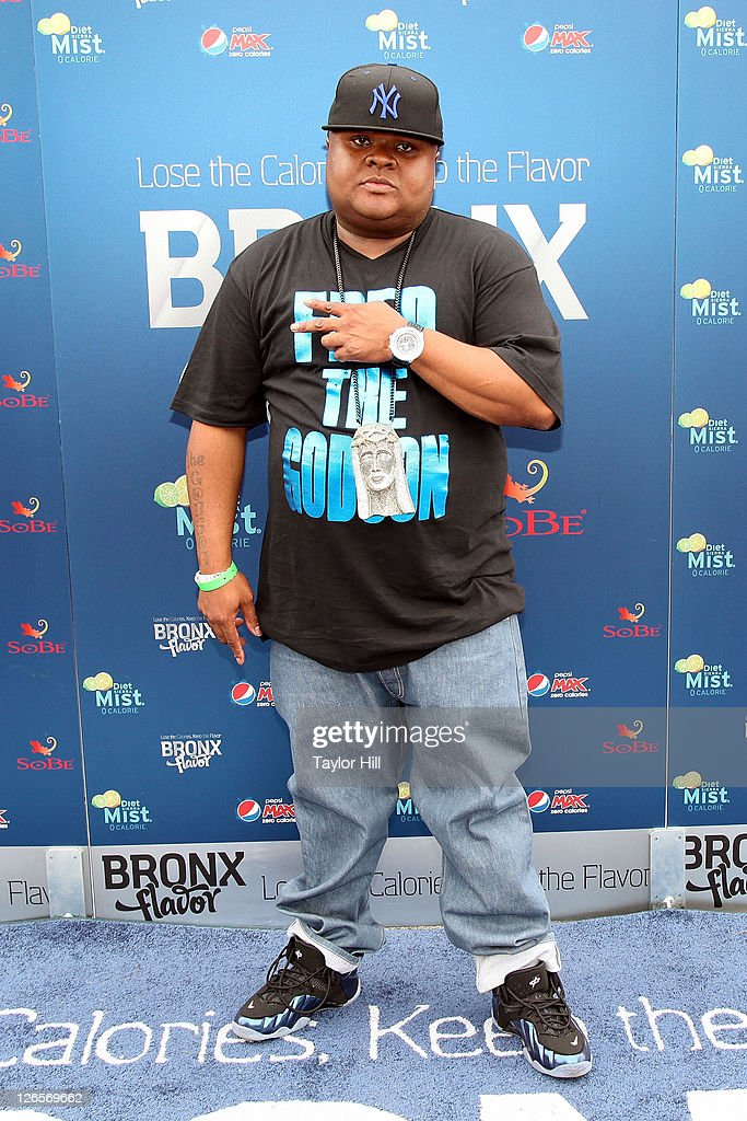 Rapper Fred the Godson attends Pepsi Co's Bronx Flavor Live