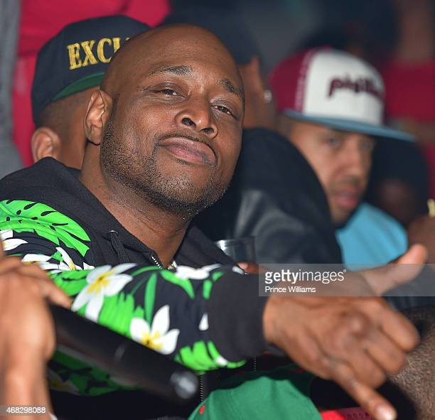Rapper Freekey Zekey of the group 'The Diplomats' attends the Dipset Official Reunion at Compound on March 28, 2015 in Atlanta, Georgia.