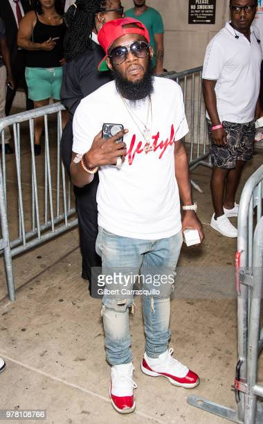 Rapper Freeway attends 'Stand With Meek Mill' Rally on June 18 2018 in Philadelphia Pennsylvania