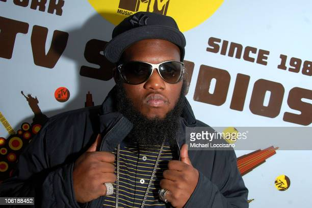 Rapper Freeway visits MTV's Sucker Free at MTV Studios in New York City's Times Square on November 29 2007 The air date for this show is December 5...