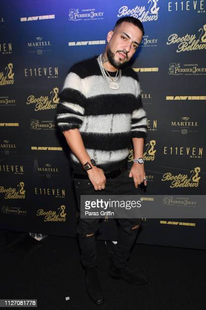 Rapper French Montana attends French Montana Performs at Bootsy Bellows x E11EVEN Miami 2019 BIG GAME WEEKEND EXPERIENCE at RavineATL on February 02...
