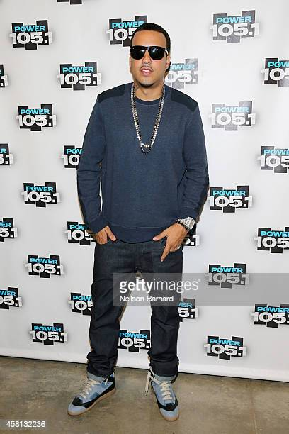 Rapper French Montana attends Power 1051's Powerhouse 2014 at Barclays Center of Brooklyn on October 30 2014 in New York City