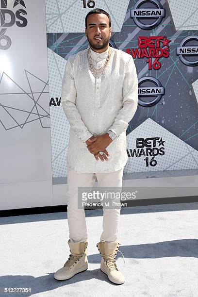 Rapper French Montana attends the 2016 BET Awards at the Microsoft Theater on June 26 2016 in Los Angeles California