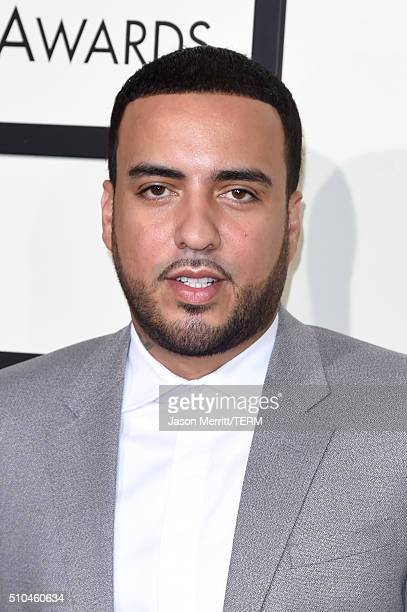 Rapper French Montana attends The 58th GRAMMY Awards at Staples Center on February 15 2016 in Los Angeles California