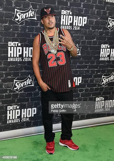 Rapper French Montana attends the BET Hip Hop Awards 2014 at Boisfeuillet Jones Atlanta Civic Center on September 20 2014 in Atlanta Georgia