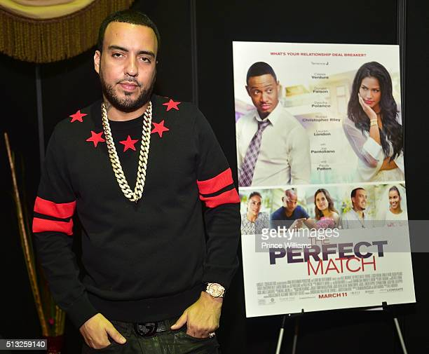 Rapper French Montana attends the CIAA 2016 Fan Fest at Charlotte Convention Center on February 27 2016 in Charlotte North Carolina