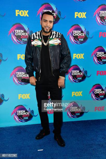 Rapper French Montana attends the Teen Choice Awards 2017 at Galen Center on August 13 2017 in Los Angeles California