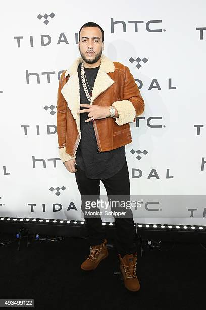 Rapper French Montana attends TIDAL X 1020 at Barclays Center on October 20 2015 in the Brooklyn borough of New York City